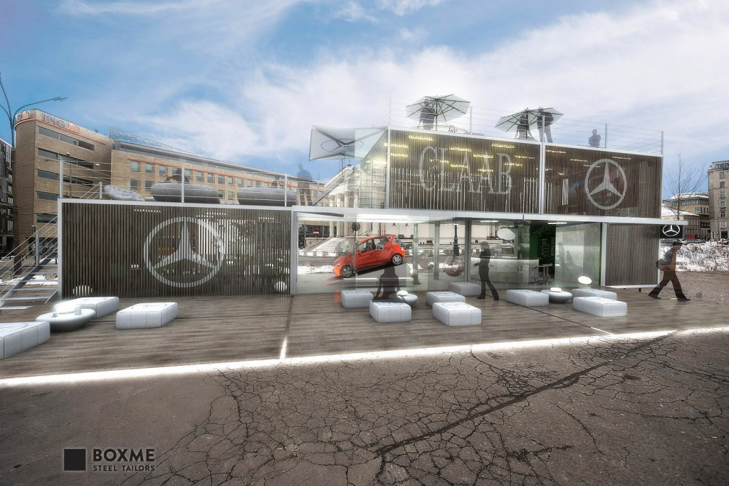 BOXME_containers_Mercedes_showroom-4