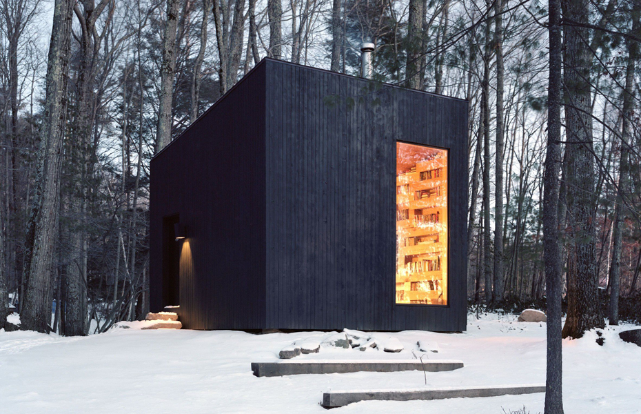 Library cabin designed by Studio Padron